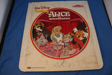 Alice in Wonderland Video Disc For Video Disc Players