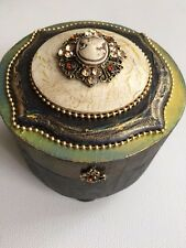 Hand made new  wooden box for jewelry