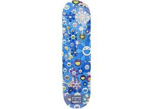 Takashi Murakami Flowers Skateboard Deck - Blue