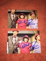 Liane Foly Lot De 2 photos dedicace autograph format 10x15cm collector rare