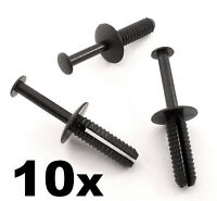 10x BMW 6mm Push Fit Plastic Rivet Pin Clip- Bumpers, Interior Trim Panel Fascia
