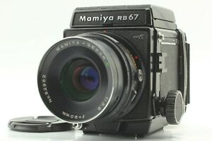 【N MINT】 Mamiya RB67 Pro S + Sekor C 90mm f/3.8 + 120 Film Back From Japan 1146