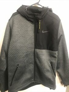 NEW Nike Therma Sphere Max Full Zip Jacket Gray/Black BV3998-070 Mens Size XXL