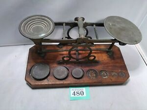 Antique Post Office Scales S Mordan & Co.