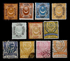 TURKEY: 19TH CENTURY CLASSIC ERA STAMP COLLECTION MOSTLY UNUSED