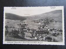 AK Böhmisch Wiesenthal & Oberwiesenthal-Keilberg-Fichtelberg