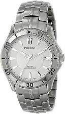 Pulsar Men's PXHA33 100M Classic Active Sports Stainless Steel Quartz Watch