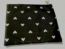 "Mickey Mouse Makeup Bag, Black, 7.5"" x 6"". Brand New"