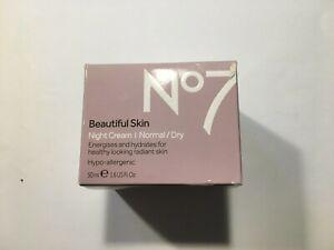 No7 Beautiful Skin Night Cream Normal/dry
