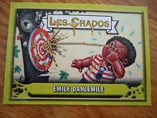 Image * Les CRADOS 3 N°153 * 2004 album card Sticker FRANCE Garbage Pail Kid