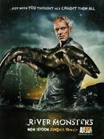 River Monsters Movie POSTER 11 x 17 Jeremy Wade, A