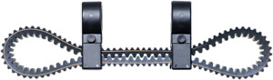 "New Moose Utility Spare UTV SXS CVT Drive Belt Holder For All 2"" Inch Roll Cages"