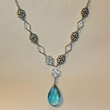 Handmade Turquoise Silver Plated Costume Necklaces & Pendants