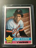 1976 Topps Rod Carew Minnesota Twins #400 Baseball Card