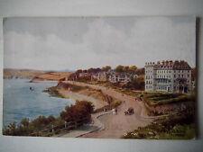 Cliff Drive Falmouth 1930s ARQ Old Postcard AR Quinton / J Salmon 1932