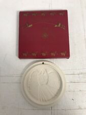 1997 Gerald Henn Angel Of Blessings Stoneware Cookie Mold ornament