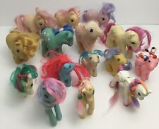 My little Pony G1 Vintage Lot of 15 Ponies 1980s *Bonus 3 From The 90's*