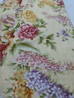 Benartex 'Laurel Cottage' By Mariana Elizabeth 100% Cotton 1.27 metres roll