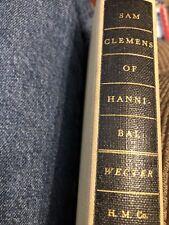 DIXON WECTER SAM CLEMENS OF HANNIBAL  1952 HB