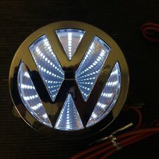 Newest LED logo Light badge for VW Volkswagen  red white color USA SHIP