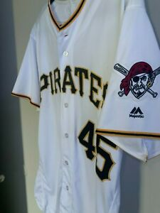 Pittsburgh Pirates Gerrit Cole Flexbase Jersey 44 Authentic