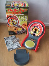 TIGER BULLS-EYE BALL 100% COMPLETE ELECTRONIC TALKING TABLETOP TARGET GAME BOXED