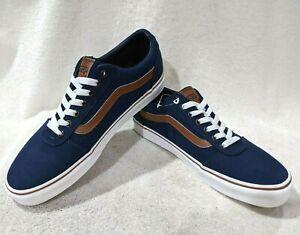 Vans Men's Ward C&L Dress Blues/White Skate Shoes - Assorted Sizes NWB