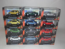MODELS SET, 12 PCS,  1:72 CARARAMA. NEW IN BOX.