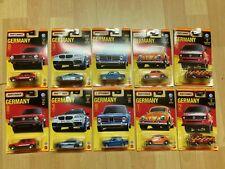 MoYShop Matchbox 10 Modelle kompl.Case Germany Käfer VW T3 Feuerwehr BMW Polizei