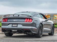 BORLA ATAK 2018+ FORD MUSTANG GT COUPE 5.0L V8 VALVED CATBACK EXHAUST BLACK TIPS