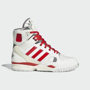Adidas Kid Cudi Torsion Artillery Hi Mens Casual Shoes Off White/Scarlet FZ0883