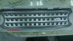 MIT GRAY & SILVER GRILLE OL FOR RANGE ROVER L322 SUPERCHARGED MODEL 2006-2009