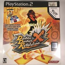 Playstation 2 Dance Dance Revolution X Controller Mat Game New In Box