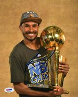 LEANDRO BARBOSA SIGNED AUTOGRAPHED 8x10 PHOTO GOLDEN STATE WARRIORS RARE PSA/DNA