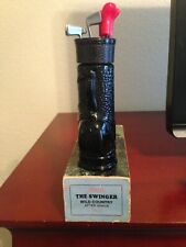 Avon Swinger Golf Bag Decanter - Wild Country after shave - 1969