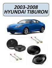 Fits 2003-2008 HYUNDAI TIBURON Speaker Replacement Combo Kit, PIONEER