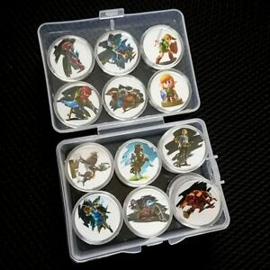 24Pcs Zelda Collection Coin The Legend Of Amiibo Card Full Set Inclue Link's