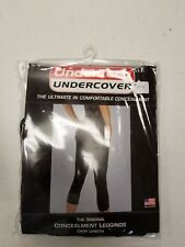 Undertech Original Conceal Carry leggings Crop Length  Black -Large- Right Hand