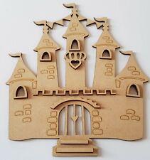 Laser cut 3mm MDF Fairy Castle 3D effect, Kids Party, Fun project, Craft Idea