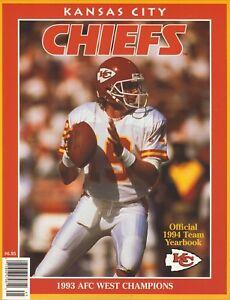 Joe Montana--Kansas City Chiefs--1994 Yearbook