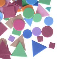 About 200-250Pcs Irregular Geometric Foam Stickers Kindergarten Kids Craft  CRIT