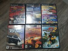 Sony Playstation 2 PS2 Lot of 6 Games test drive off road atv offroad fury 2
