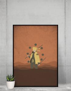 Naruto Poster Baruto Anime NEW Manga Wall Art premiem print design Size A4 A3 A2