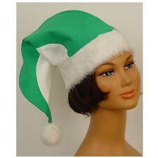 Zipfelmütze grün/weiß 50cm Bommelmütze Mütze Verein WM Zwerg Kostüm 123880813