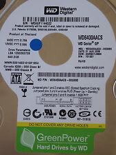 Western Digital WD6400AACS-00G8B0   HGRNHTJMBN   31 AUG 2008  640GB disco rigido
