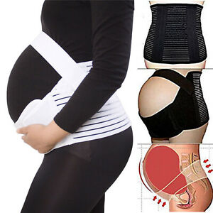 PREGNANCY MATERNITY BELT LUMBAR BACK SUPPORT WAIST BAND BELLY BUMP BRACE STRAP
