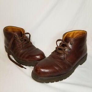 Havana Joe Men's Panama Jack Brown Leather Chukka Shoes 0201 US 12-12.5