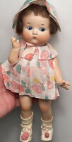 """Early Antique German Bisque Vogue  10"""" Just Me Doll All Original Beautiful Cute"""