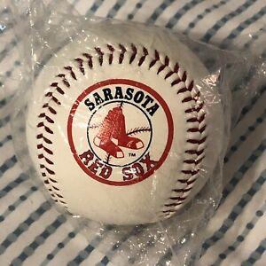 Sarasota FL Spring Training Boston Red Sox Baseball Ball in wrapper Coca Cola