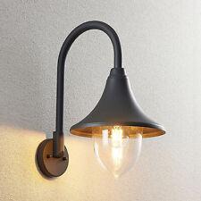 Lindby Edric Außenwandleuchte Außenleuchte Wandlampe Seewasserfest Vintage Antik